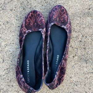 Lucky Brand Flats - Worn Once - Size 8.5
